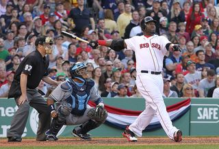 Big papi home run