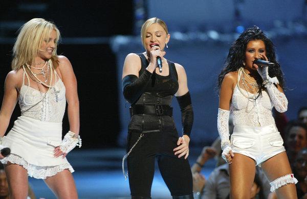 Britney madonna christina