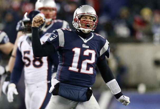 Brady broncos game