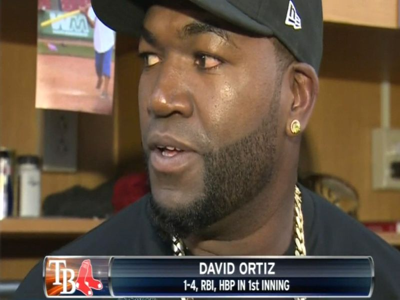 David ortiz apology