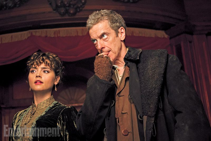 Peter capaldi jenna coleman first episode