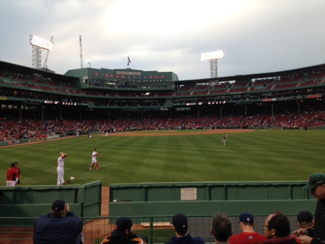 Red sox seats