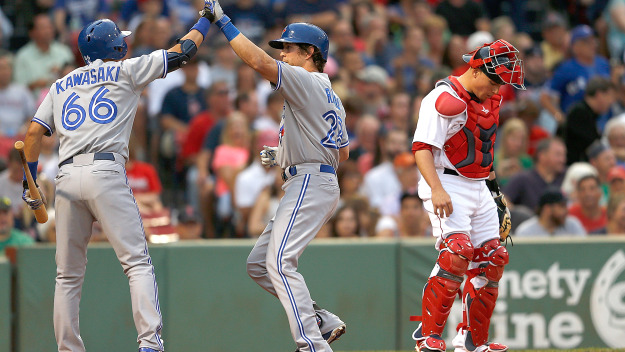 Blue jays red sox july 2014
