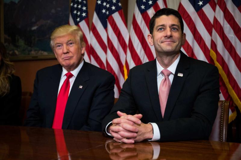 Donald Trump Paul Ryan February 28 2017