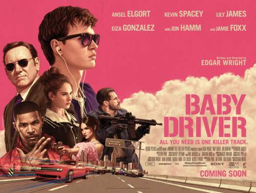 Baby Driver Poster July 5 2017