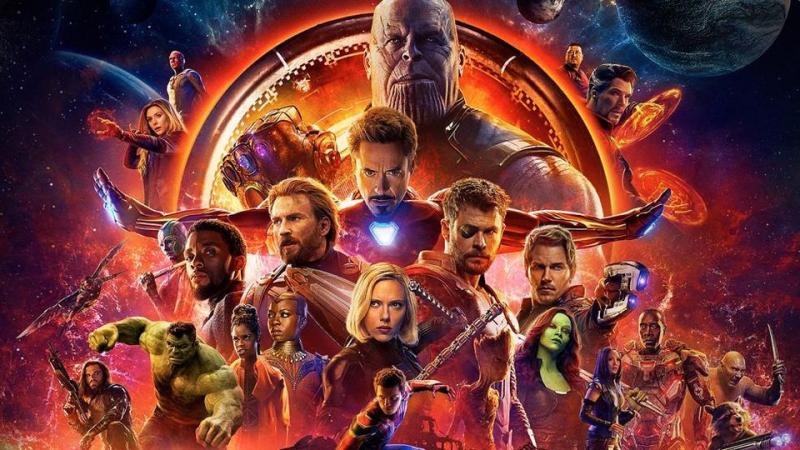 Infinity War Poster May 7 2018