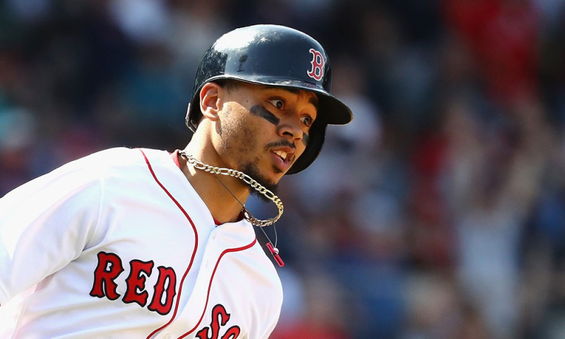 Mookie Betts May 8 2018
