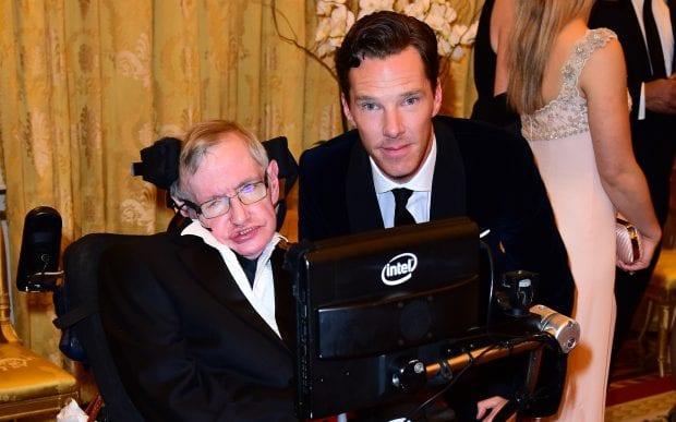 Stephen Hawking Benedict Cumberbatch May 13 2018