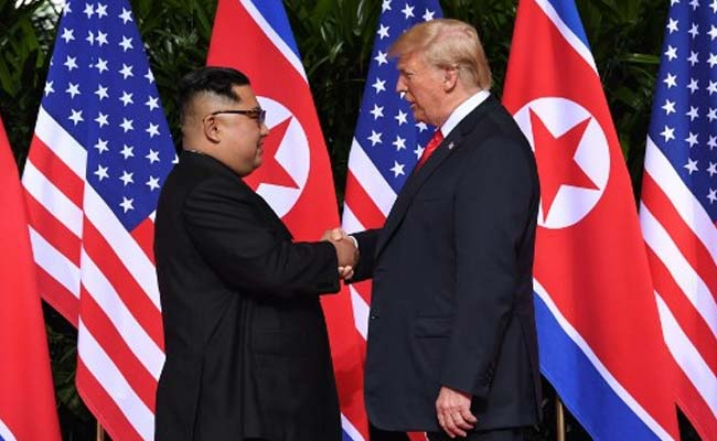 Donald Trump Kim Jong Un June 12 2018