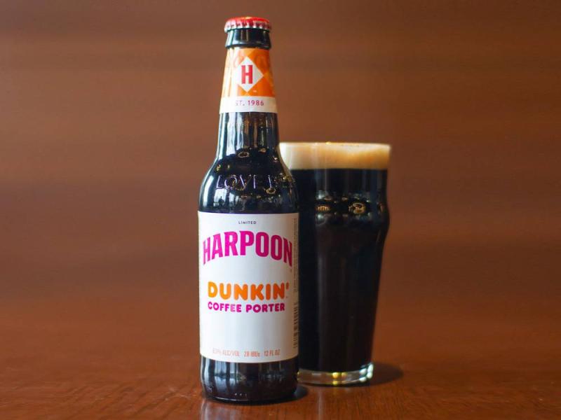 Harpoon Dunkin Coffee Porter October 6 2018