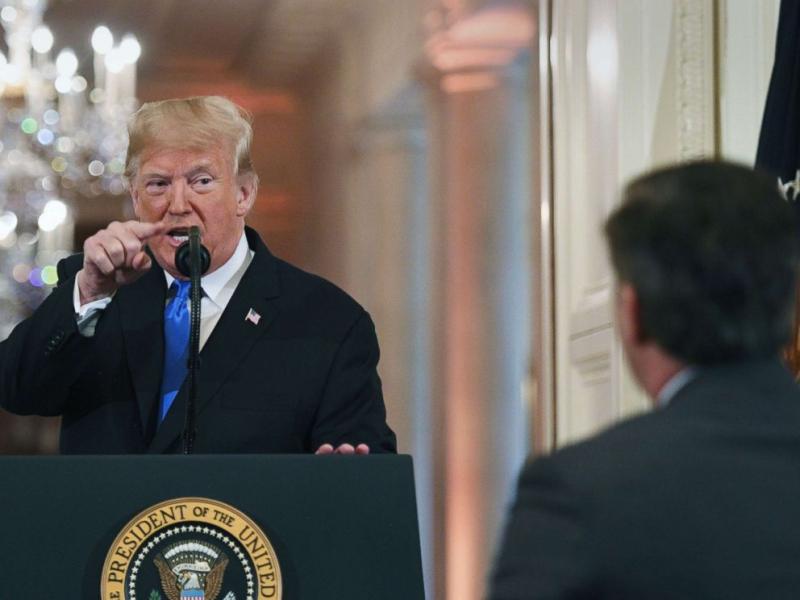 Donald Trump November 8 2018
