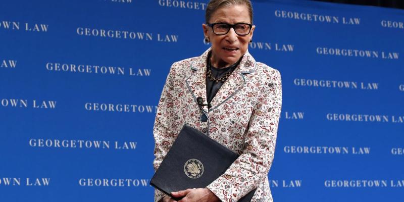 Ruth Bader Ginsburg November 9 2018
