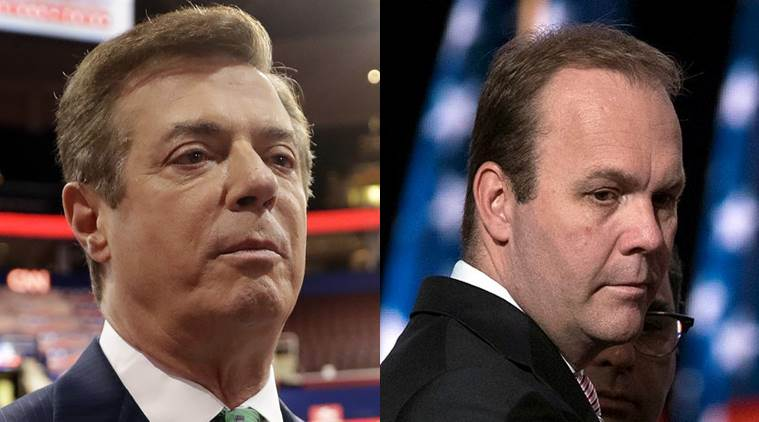 Paul Manafort Rick Gates August 7 2018