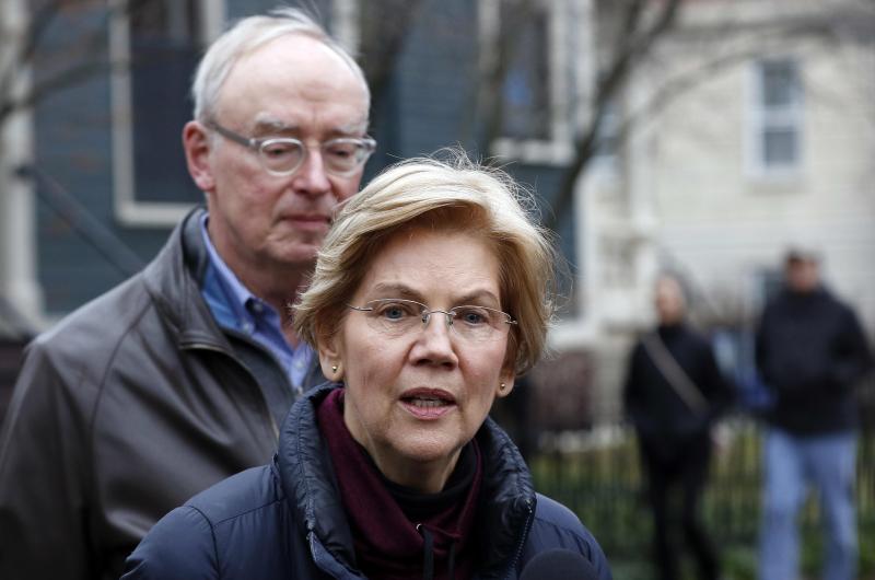 Elizabeth Warren January 1 2019