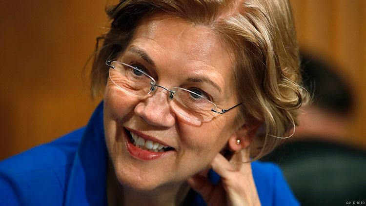Elizabeth Warren October 12 2018
