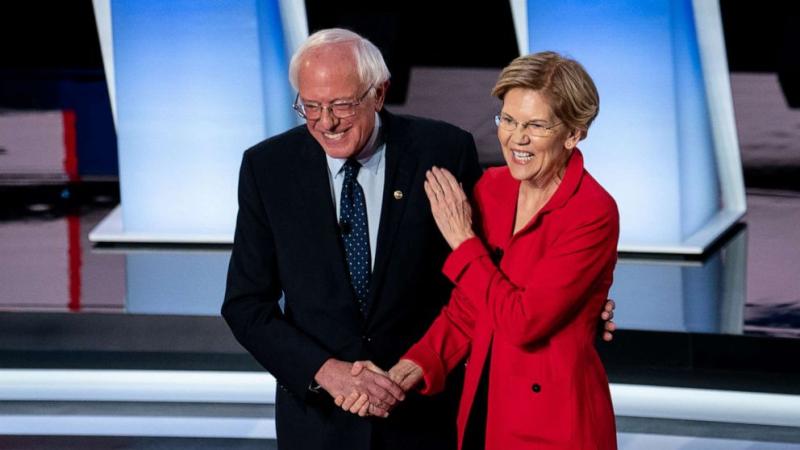 Bernie Sanders Elizabeth Warren January 14 2020