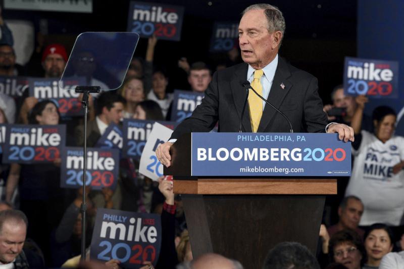 Mike Bloomberg February 13 2020