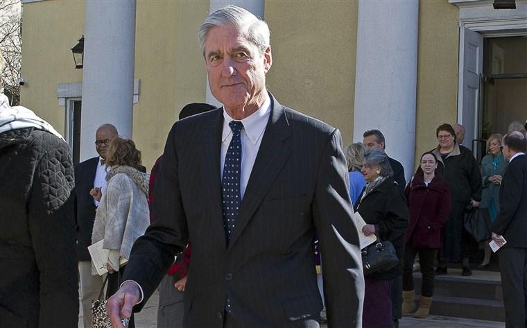 Robert Mueller July 22 2019