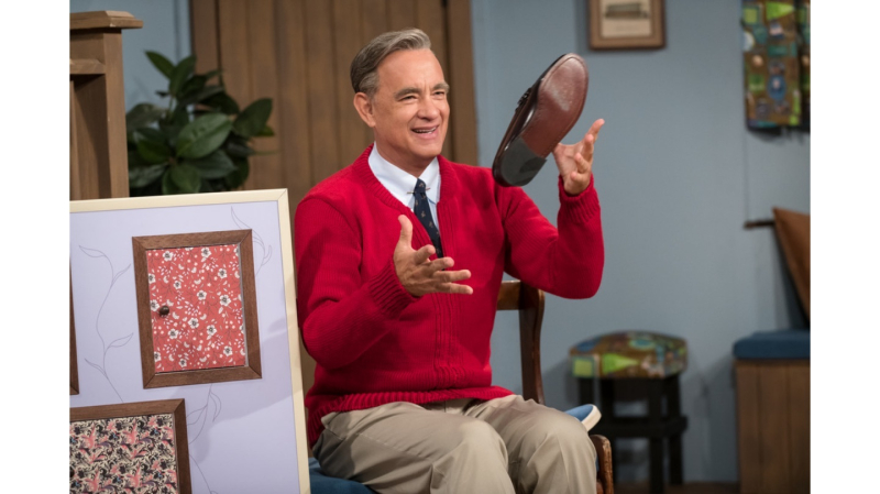 Tom Hanks Fred Rogers July 22  2019