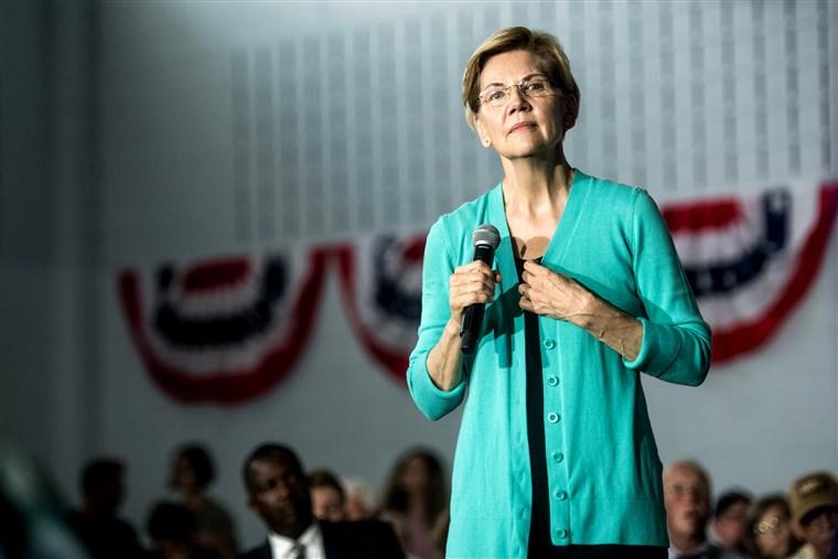 Elizabeth Warren August 25 2019