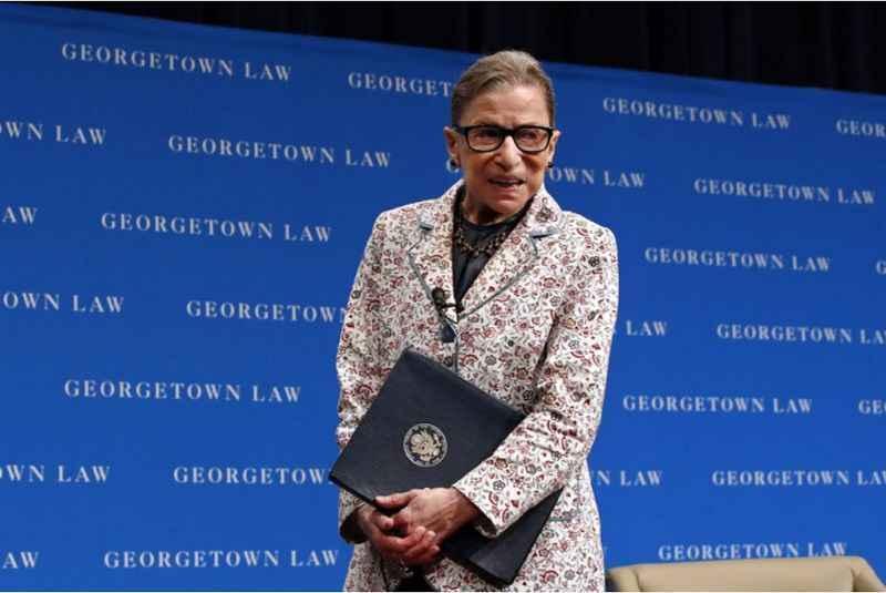 Ruth Bader Ginsburg August 26 2019