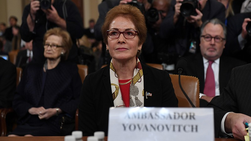 Ambassador Yovanovitch Novmeber 16 2019