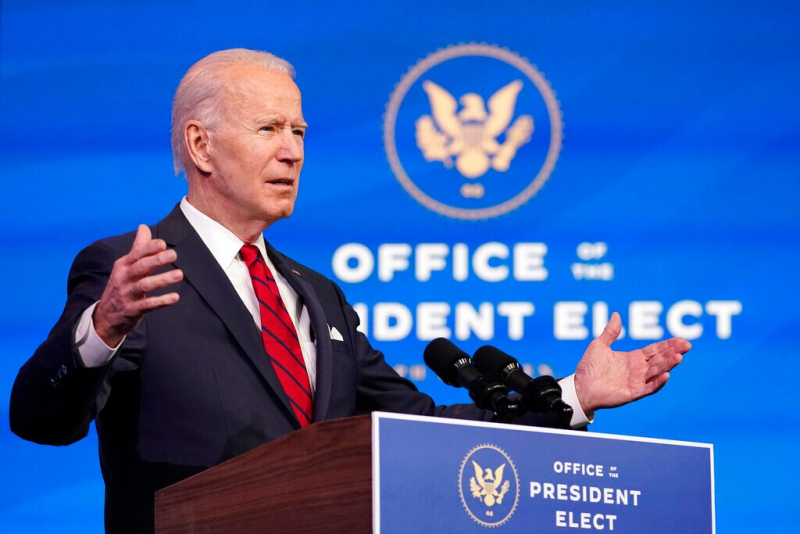 Joe Biden January 16 2021