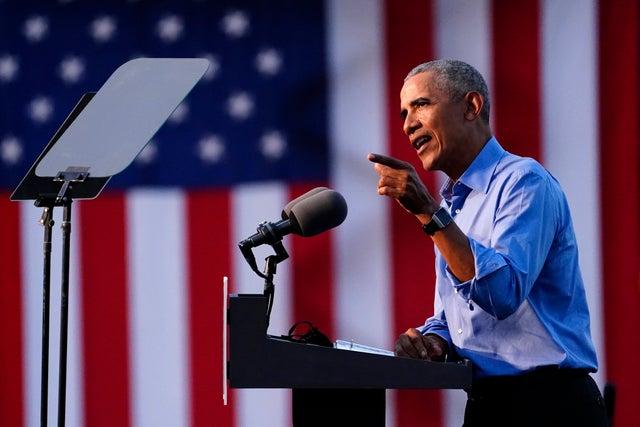 Barack Obama October 22 2020