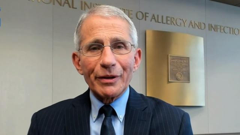 Doctor Anthony Fauci October 25 2020